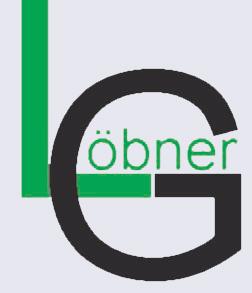 Löbner Glasfasermontage - Logo